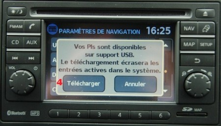 nissan qashqai connect map update download